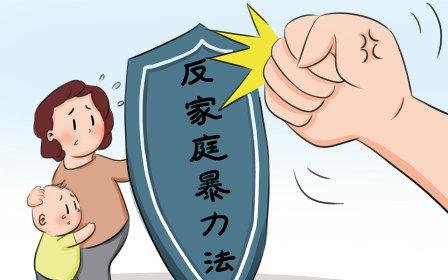 反家庭暴力法规定